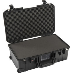 Pelican 1535Air Wheeled Carry-On Case (Black, with Pick-N-Pluck Foam)
