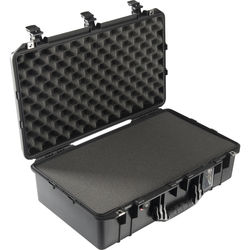 Pelican 1555Air Carry-On Case (Black, with Pick-N-Pluck Foam)
