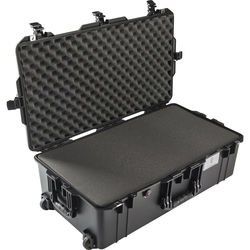 Pelican 1615Air Wheeled Check-In Case (Black, with Pick-N-Pluck Foam)