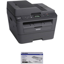 Brother DCP-L2540DW All-in-One Monochrome Laser Printer with Additional High Yield Cartridge Kit