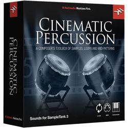 IK Multimedia Cinematic Percussion - SampleTank 3 Virtual Instrument (Download)