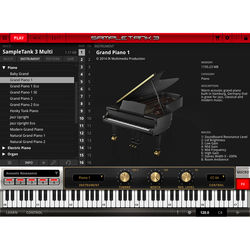 IK Multimedia SampleTank 3 Sample-Based Virtual Instrument (Download)