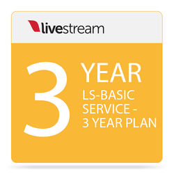Livestream Livestream Basic Platform Plan (3-Year Subscription)