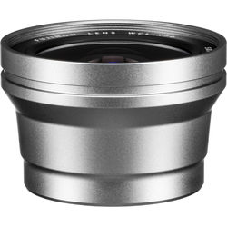 Fujifilm WCL-X70 Wide Conversion Lens for X70 Digital Camera (Silver)