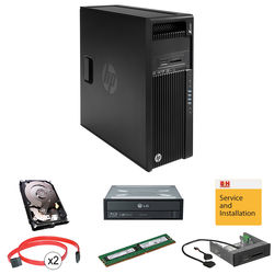 HP Z440 Series L9K27UT Turnkey Workstation with 16GB RAM, 4TB HDD, Blu-ray Disc Rewriter, and 15-in-1 Media Card Reader