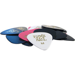 Ernie Ball Bag of 24 Medium Picks (Assorted Colors)
