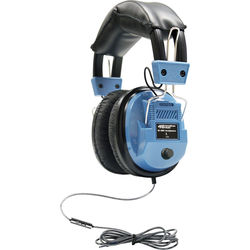 HamiltonBuhl iCompatible Deluxe Headset with In-Line Microphone & Volume Control (Light Blue)
