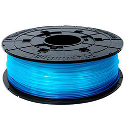 XYZprinting 1.75mm PLA Filament for the Jr. and Mini 3D Printer Series (600g, Clear Blue)