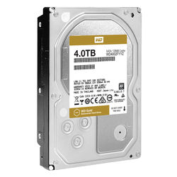 "WD 4TB Gold 7200 rpm SATA III 3.5"" Internal Datacenter HDD"