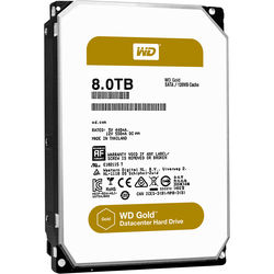 """WD 8TB Gold 7200 rpm SATA III 3.5"""" Internal Datacenter HDD"""