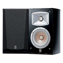 "Yamaha NS-333 5"" 2-Way Bookshelf Speaker - Pair (Black)"