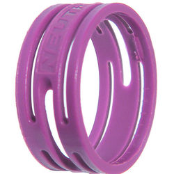 Neutrik Color Coding Ring for etherCon Connectors (100-Pack, Violet)