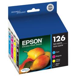 Epson T126 DURABrite Ultra High-Capacity Black & Color Ink Cartridge Set
