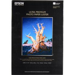 "Epson Ultra Premium Luster Photo Paper (13x19"", 50 Sheets)"