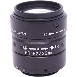 "Kowa LM35JCM 35mm f/2.0 C-Mount Lens for 2/3"" Sensors"