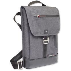 Brenthaven Collins Vertical Messenger Bag for Surface Pro 4 (Graphite)