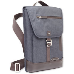 Brenthaven Collins Vertical Messenger Bag for Surface Pro 4 (Indigo)