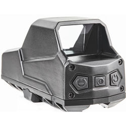 Hartman 1x MH1 Reflex Sight with 2 MOA Red Dot Reticle (Single Lever, Black)