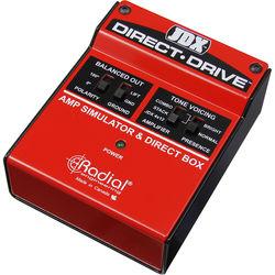 Radial Engineering JDX Direct Drive Amp Simulator and DI Box