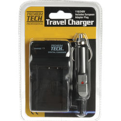 Power2000 Wall and Car Charger for Sony Cyber-shot DSC-W800 & W830