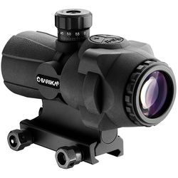 Barska AR-X Pro 3x30 Prism Scope (Illuminated Cross-Dot Reticle, Black)