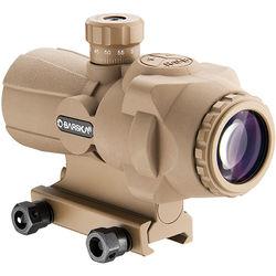 Barska AR-X Pro 3x30 Prism Scope (Illuminated Cross-Dot Reticle, Tan/Flat Dark Earth)