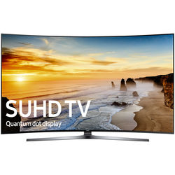 "Samsung KS9800-Series 78""-Class SUHD Smart Curved LED TV"