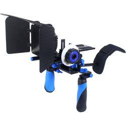 Ivation Rig System for DSLR or Video Camera (Blue)
