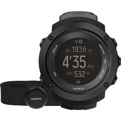 SUUNTO Ambit3 Vertical Sport Watch with Smart Sensor Heart Rate Monitor (Black)