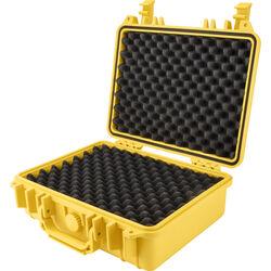 Barska HD-200 Loaded Gear Hard Case with Foam (Yellow)