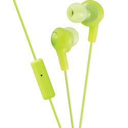 JVC HA-FR6 Gumy Plus Earbuds (Green)