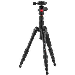 Oben AT-3535 Folding Aluminum Travel Tripod with BE-208T Ball Head