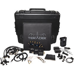 Teradek Bolt 600 SDI/HDMI Wireless Video Transmitter/Two Receiver Deluxe Kit