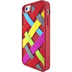 iLuv Tangle Case for iPhone SE (Red)