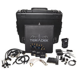 Teradek Bolt 2000 SDI/HDMI Wireless Video Transmitter/TwoReceiver Deluxe Kit
