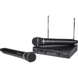 Samson Stage 200 Dual-Channel Handheld VHF Wireless System (Channel D)