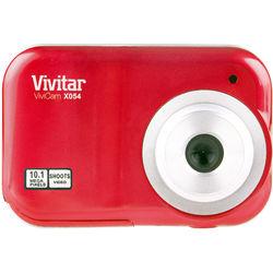 Vivitar ViviCam X054 Digital Camera (Red)