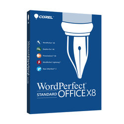 Corel WordPerfect Office X8 Standard Edition Upgrade (Boxed)