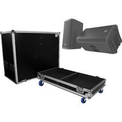 ProX ATA Style Flight Case for EV ZLX12P Dual Speakers