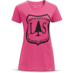 Leupold Short-Sleeve L&S V-Neck T-Shirt (Neon Magenta, Medium)