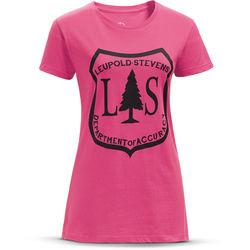 Leupold Short-Sleeve L&S V-Neck T-Shirt (Neon Magenta, Small)