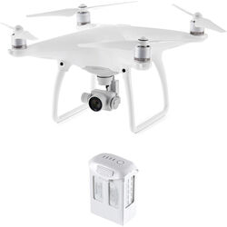 DJI Phantom 4 Quadcopter Kit with Spare Battery