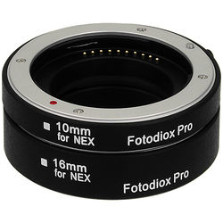 FotodioX Pro Automatic Macro Extension Tube Kit for Sony E