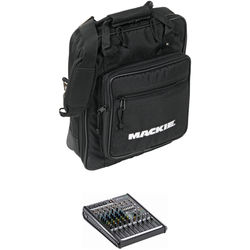 Mackie ProFX8v2 - 8-Channel Live Sound Mixer with Carrying Bag Kit