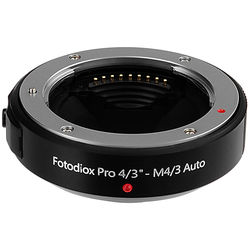FotodioX Olympus OM 4/3 Lens to Micro 4/3 (MFT) System Camera Body Lens Mount Adapter