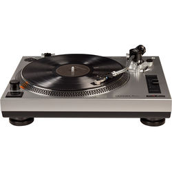 Crosley Radio C100A Turntable (Silver)