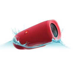 JBL Charge 3 Portable Stereo Speaker (Red)
