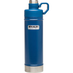 Stanley Classic Vacuum Water Bottle (25 fl oz, Hammertone Cobalt)