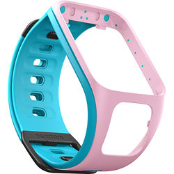 TomTom Replacement Band for Spark Fitness Watch (Light Pink/Scuba Blue, Small)