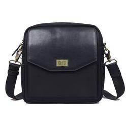 Jo Totes Granada Camera Bag (Black, Nylon & Leather)